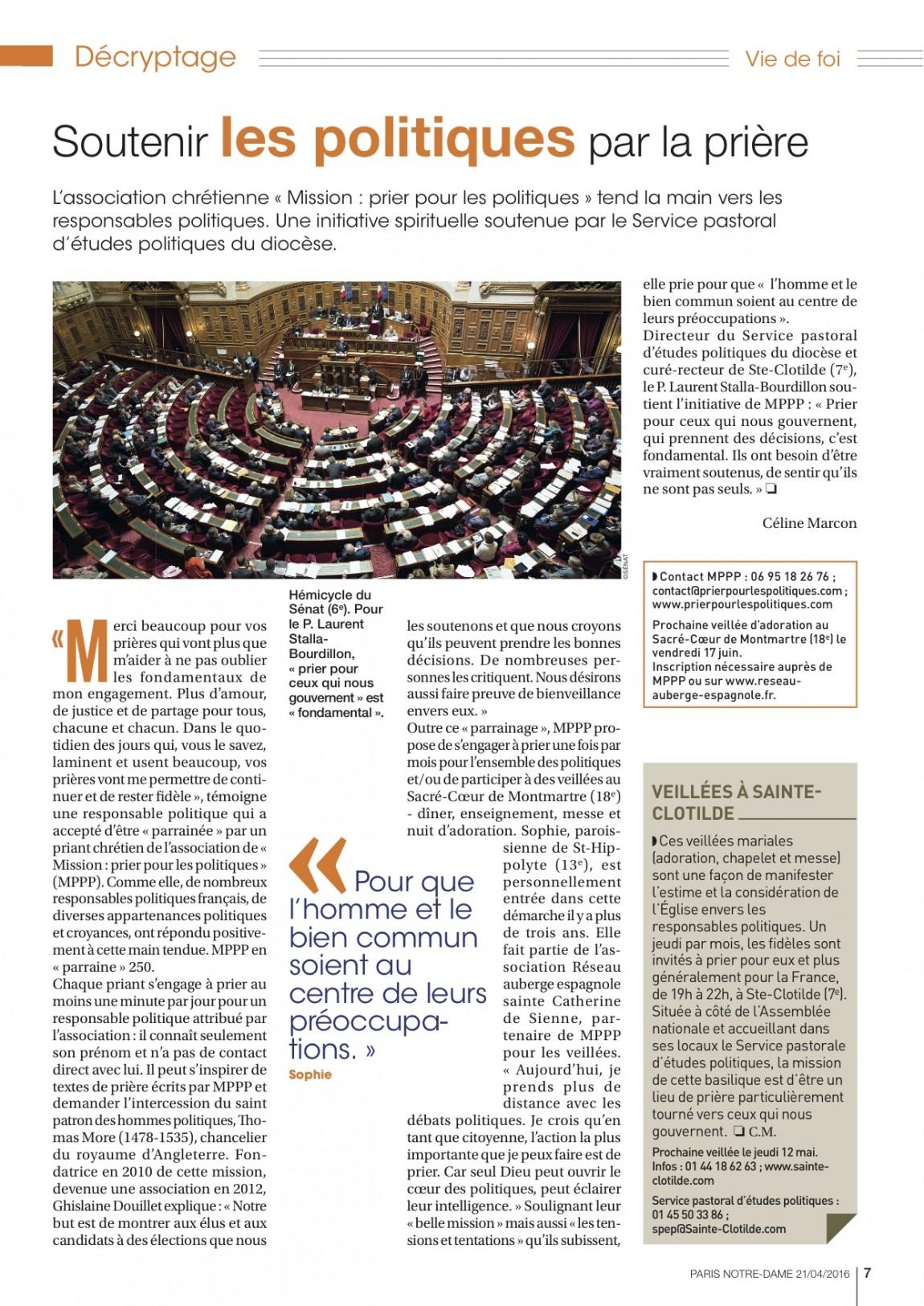 Article Paris Notre-Dame